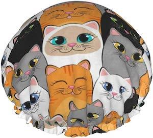 Cats Shower Cap