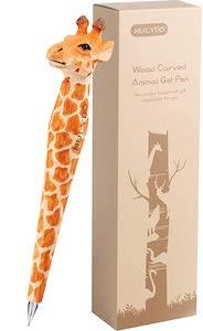 Wooden Giraffe Pen