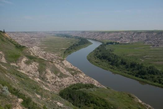 Ein schneller Blick in den Horsethief Canyon und dann ab nach Calgary