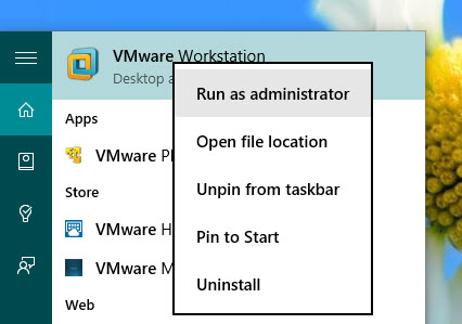 vmware-authorization-service-not-running-vmware-run-as-administrator