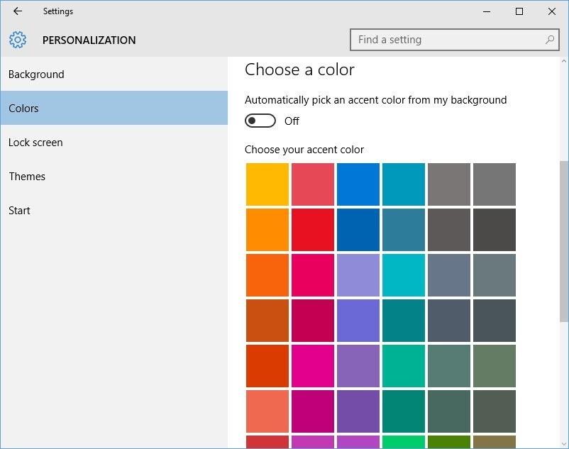 customize-win10-start-menu-choose-color