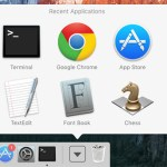 How to Add Recent Items Stack to Mac OS X Dock