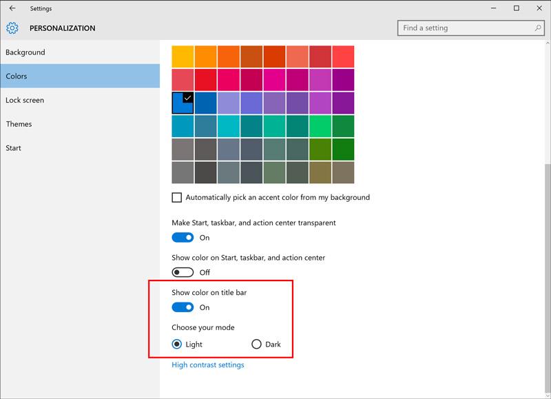 windows-insider-build-14316-personalization-updates-colors