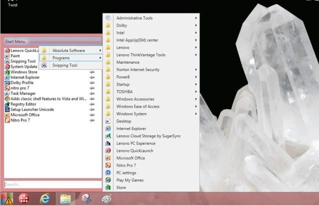 start menu alternatives for windows 10 power8 start menu