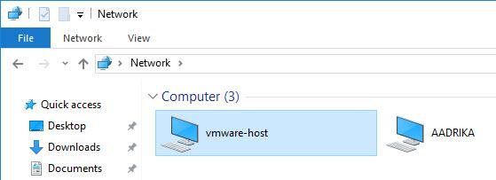 shared-folders-vmware-network-share