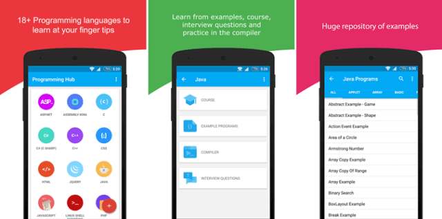 Best Android Apps to Learn Programming - Programming Hub