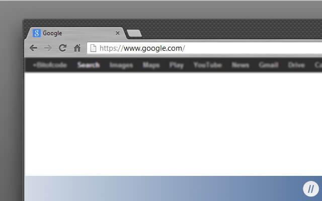 Dark themes for Google Chrome - Black carbon