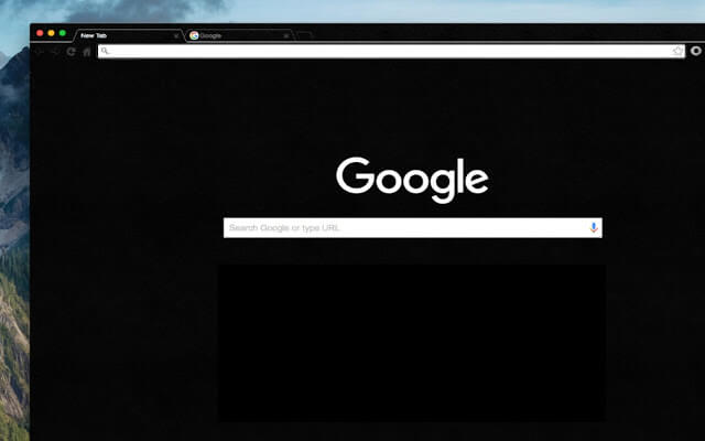 Dark themes for Google Chrome - Dark Void