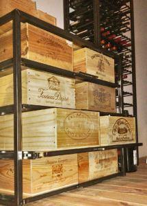 Lades voor wijnkisten