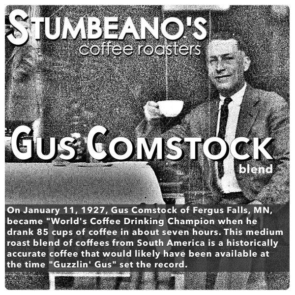 roasted coffee minnesota fergus falls gus comstock