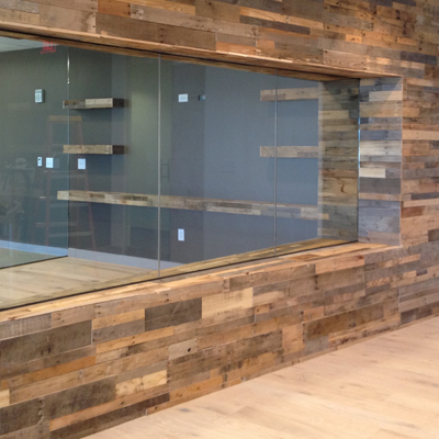 Wood paneling for architectural and design projects