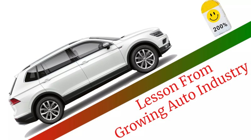 Growing Automobile Industry