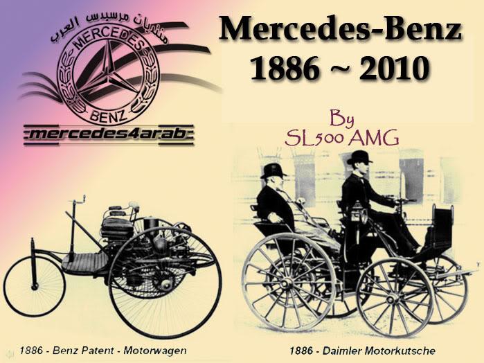 Mercedez Benz – Life Cycle (1886-2010)