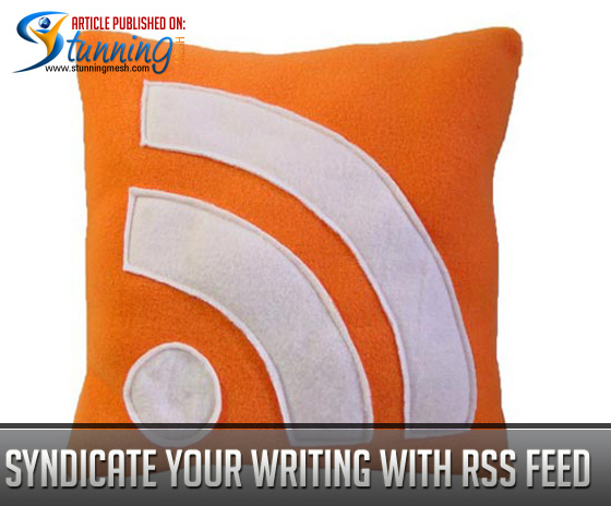 Syndicate Your Writing with RSS Feed