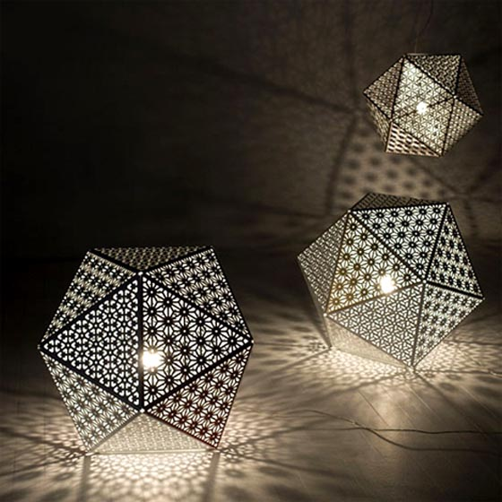 Stunningmesh - Unique & Unusual Table Lamps and Patio Lights