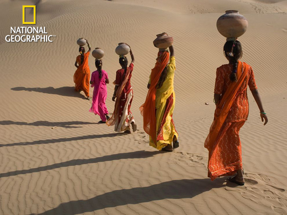 Desert Crossing, Rajasthan, India
