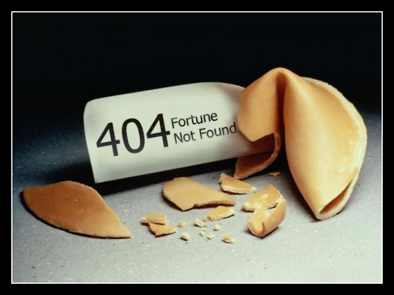 404 Error - Page not found sample