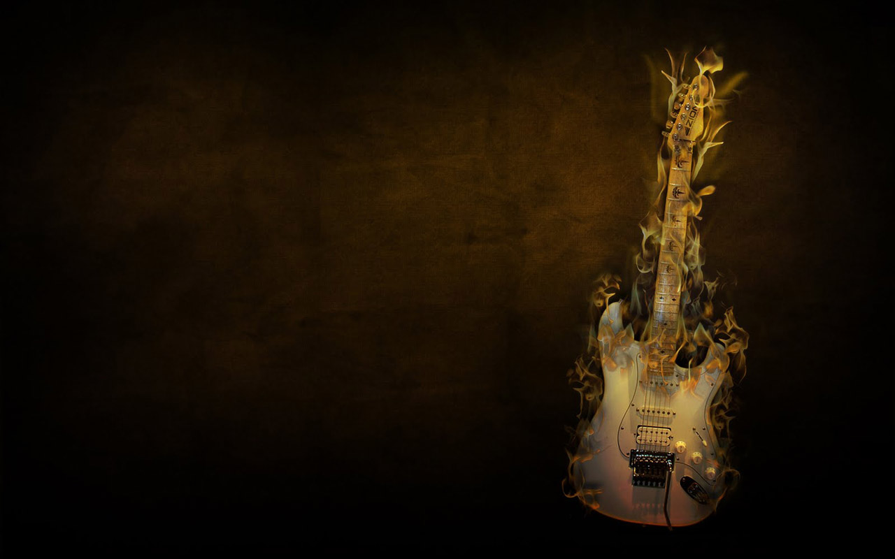 3d Jazz Music Wallpapers: Awesome Guitar Wallpapers