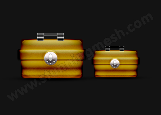 Brown Toolbox in Photoshop