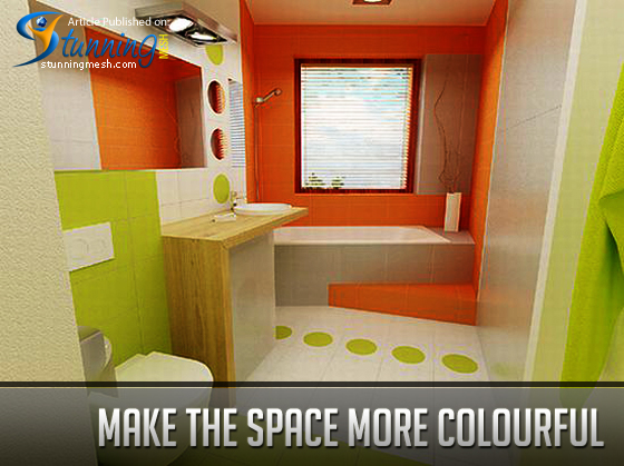 Make the space more colourful