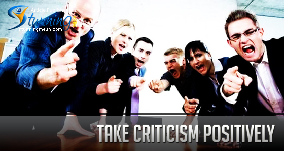 Take Criticism Positively