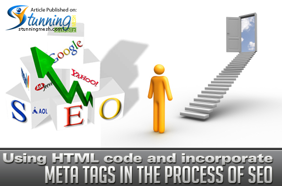 Using HTML code and Incorporate Meta Tags in the process of SEO