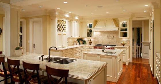 A multi-purpose family kitchen