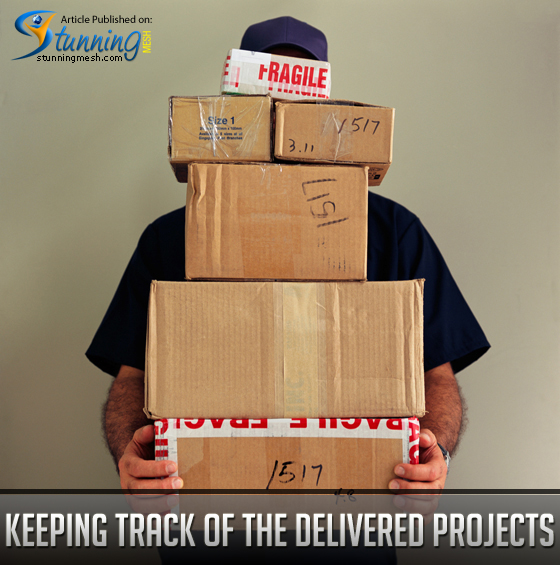 Keeping Track of the Delivered Projects