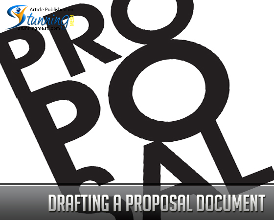 Drafting a Proposal Document