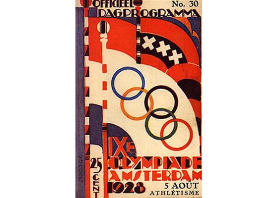 Amsterdam Olympic 1928 Logo