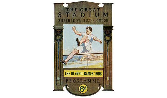 London Olympic 1908 Logo