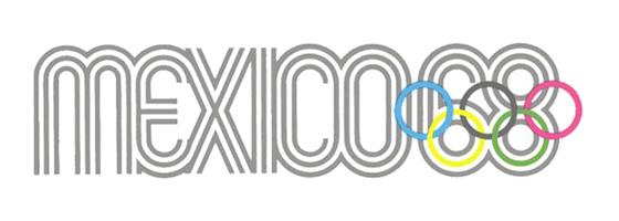 Mexico Olympic 1968 Logo