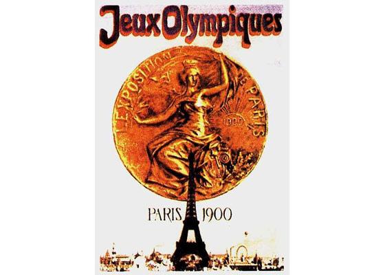 Paris Olympic 1900 Logo