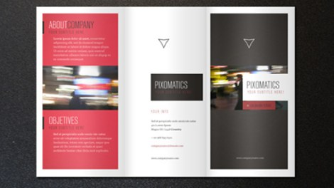 Corporate Tri Fold Brochure Template