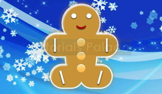 How to make Christmas Gingerbread Man