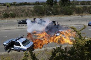 Auto Attrezzature scene d'azione Stunts Roma