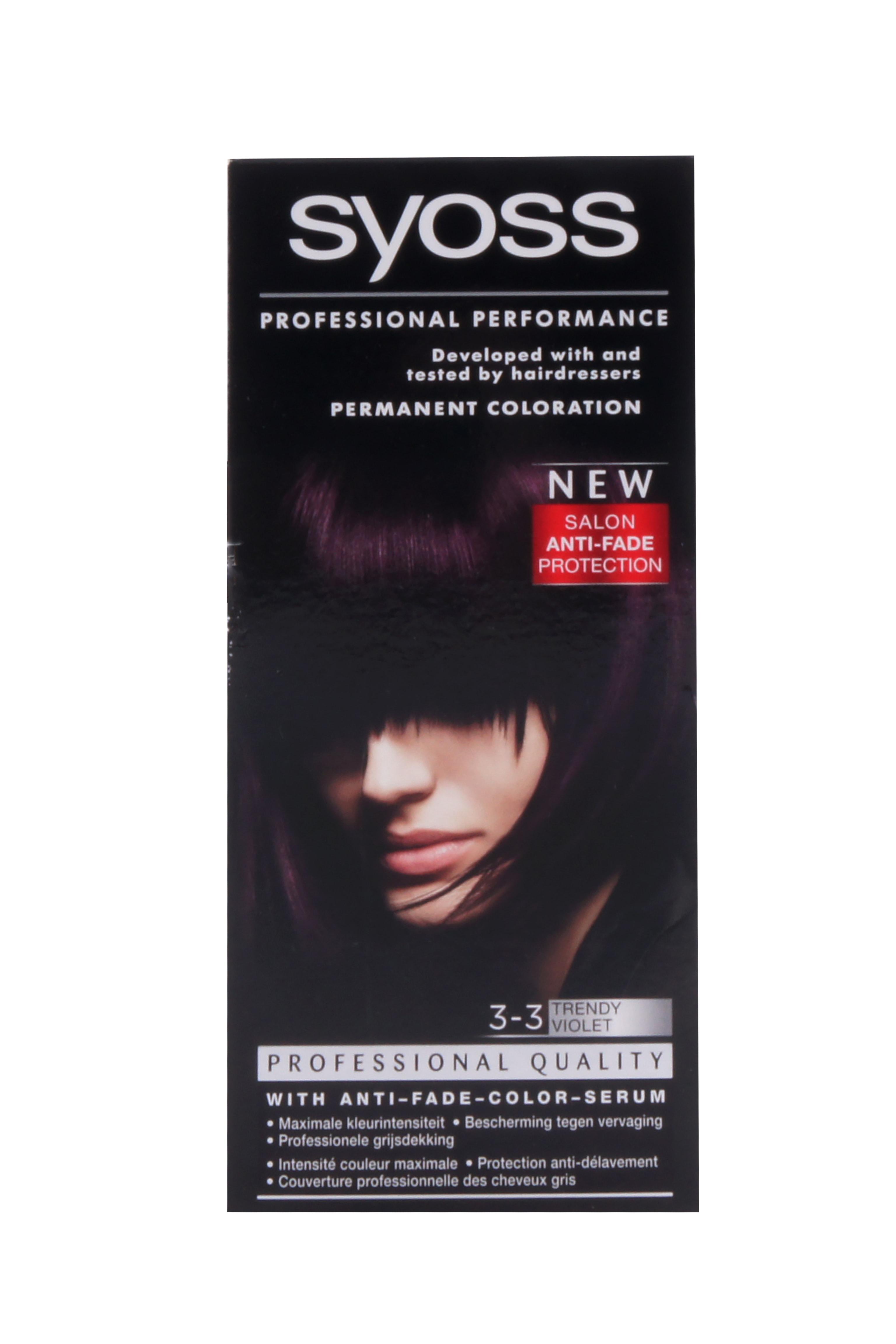 Syoss Haarverf 33 Trendy Violet  Stuntpakkernl