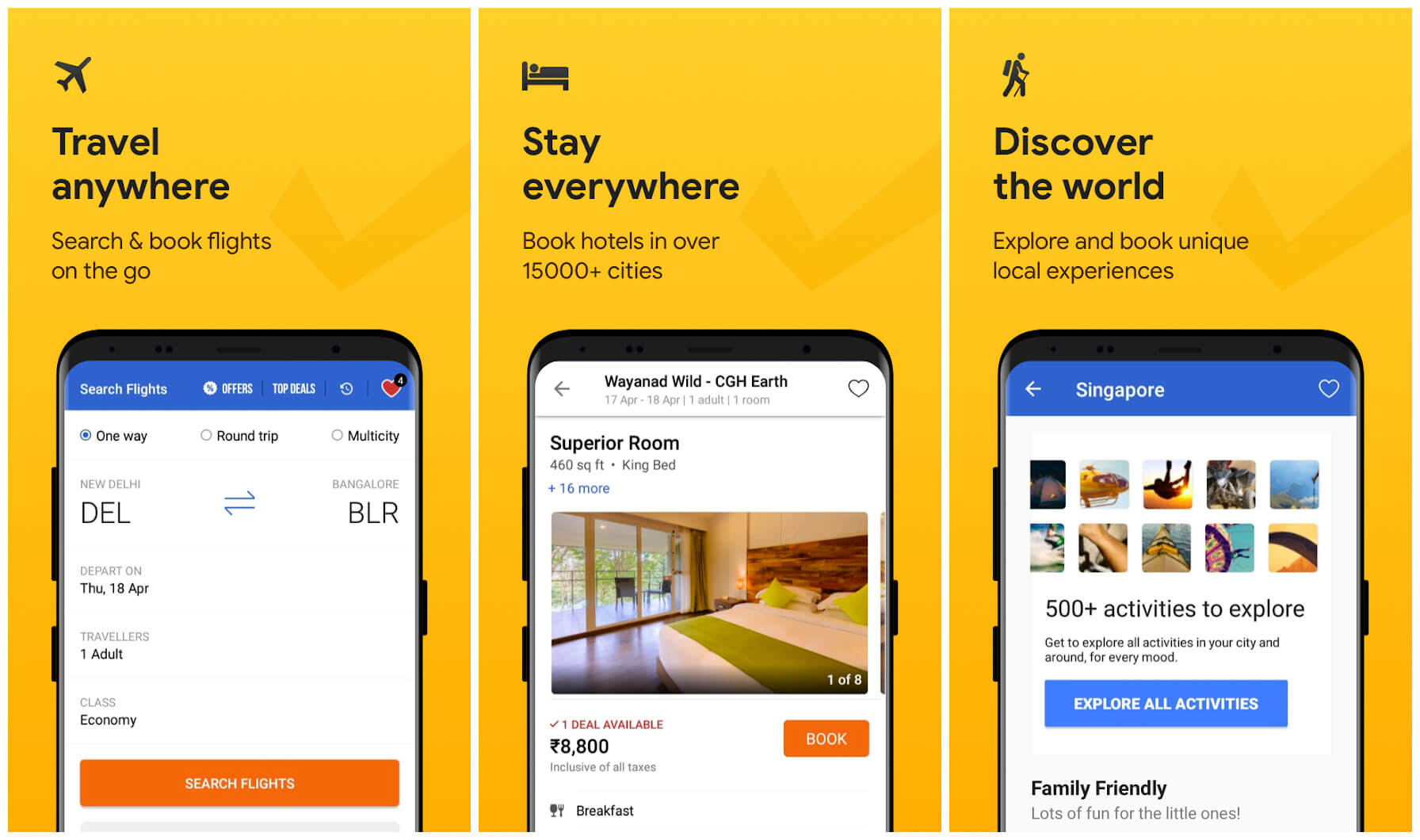 6 Best Android Flight Ticket Booking Apps in India