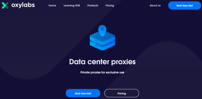 Oxylabs datacenter proxies