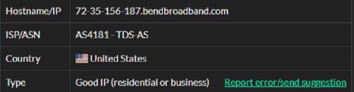 Stormproxies ISP test ip10