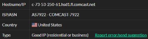 Stormproxies ISP test ip11