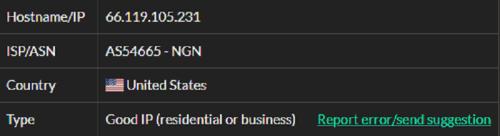 Stormproxies ISP test ip5