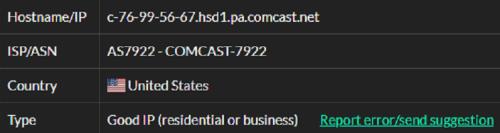 Stormproxies ISP test ip9