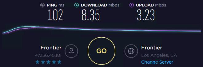 Local Proxies speed test ip 2