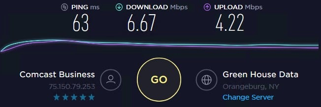 Local Proxies speed test ip 9