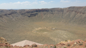 <center>Meteor Crater by Charles Carlin for Stupid Vacations</center>