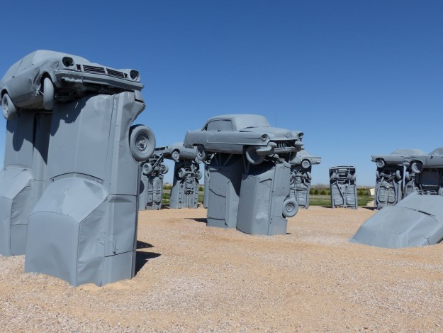 Carhenge Monument - by Charley Carlin