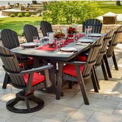 Garage Chairs Rolling Cochrane Oak Table And Sturdi-bilt | Outdoor Patio Furniture For Sale Kansas