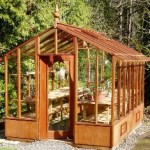 The Garden Deluxe - attractive architectural greenhouse kits