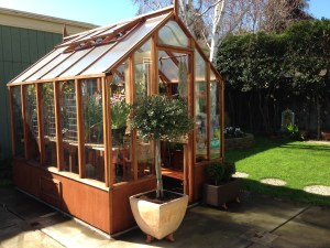 Trillium Greenhouse - a very popular smaller scale greenhouse that lives large!